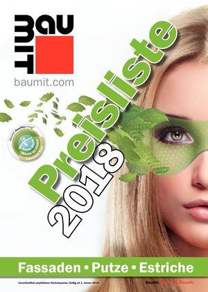 Baumit preisliste 2017 pdf