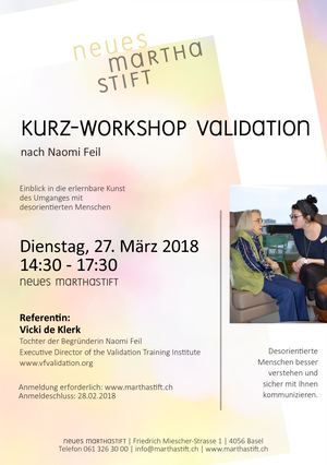 Kurz-Workshop Validation nach Naomi Feil