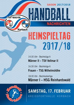 TSV Korbach  - Hallennachrichten