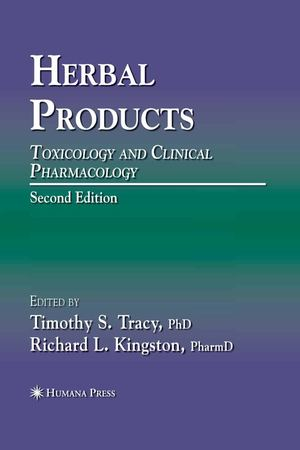 Herbal Products - Toxicology And Clinical Pharmacology 2nd Ed - T. Tracy, R.