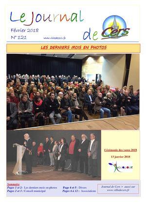 JOURNAL DE CERS - FEVRIER 2018