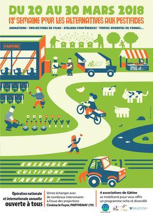 Affiche Semaine Pour les Alternatives aux Pesticides 2018