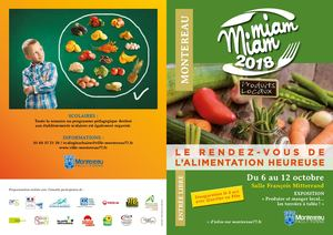 Miam Miam 2018 / Programme