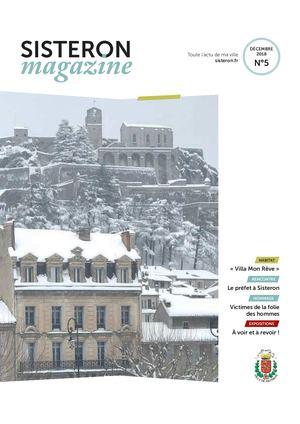 Le Magazine de Sisteron N°5 (Décembre 2018)