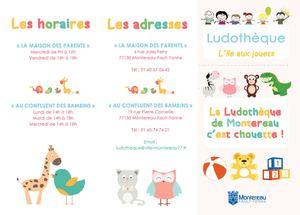 Plaquette Ludotheque 2019
