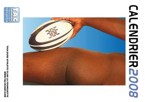 Calendrier Rugbymen 2008