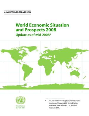 UN Report - World Economic Situation and Prospects 2008