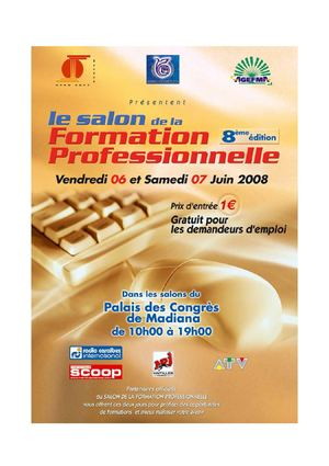 Le SALON DE LA FORMATION PROFESSIONNELLE 2008