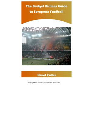 Calameo Budget Airline Football A Fans Guide