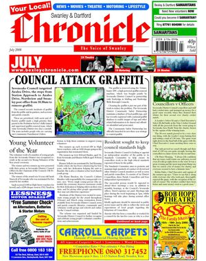 The Swanley & Dartford Chronicle July 2008