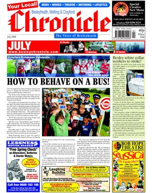 The Bexleyheath, Welling & Crayford Chronicle July 2008