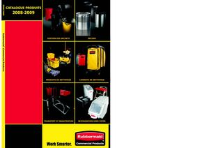 Catalogue rubbermaid