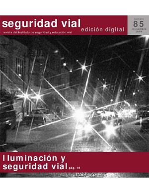 Revista SEGURIDAD VIAL - 85