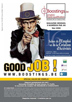Boostings Mai 2008 - Emplois haute qualification