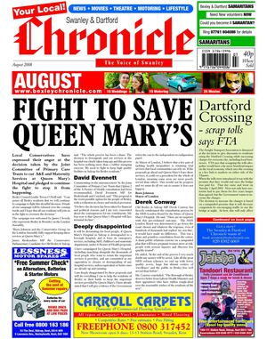 Swanley & Dartford Chronicle August 2008