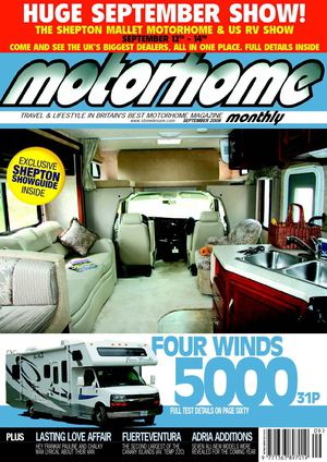 September 2008 - Motorhome Monthly Magazine