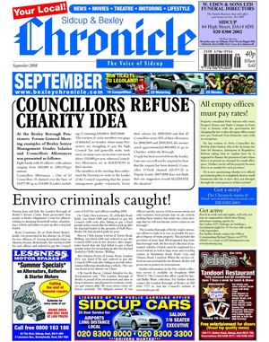 The Sidcup & Bexley Chronicle September 2008