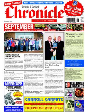 The Swanley & Dartford Chronicle September 2008