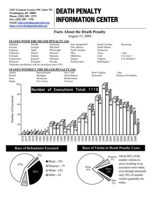 Fact book - Death penalty