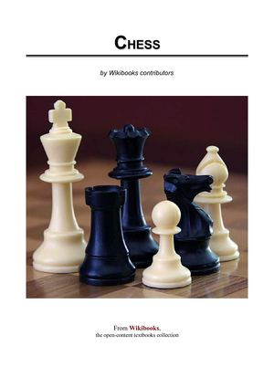 Chess - WikiBook