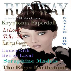 RUNWAY September 2008 Volume 1 Issue 7