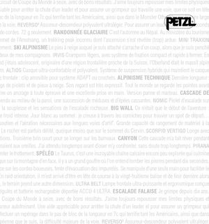 Catalogue Petzl Sport 2008