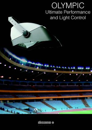 Olympic: the asymmetric floodlight