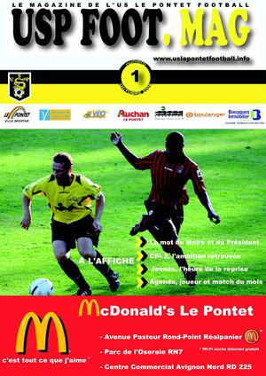 USP FOOT.MAG Octobre 2008 n°1