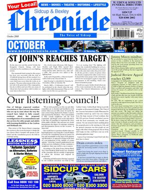 The Sidcup & Bexley Chronicle October 2008