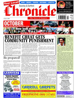 The Swanley & Dartford Chronicle October 2008