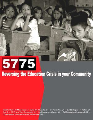 57-75: Reversing the Education Crisis in Your Community