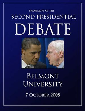 Second US Presidential debate transcript