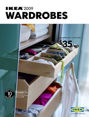 IKEA 2009 - Wardrobes [US]