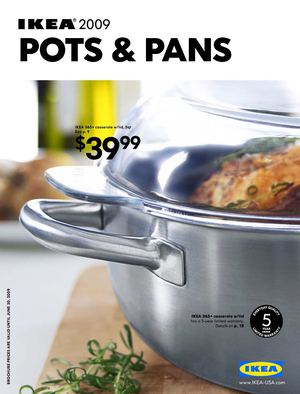 IKEA 2009 - Pots and Pans [US]