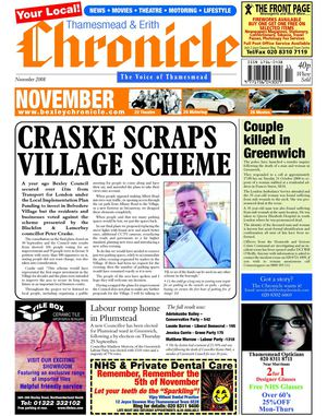 The Thamesmead & Erith Chronicle November 2008
