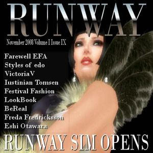 RUNWAY November 2008 Volume 1 Issue 9