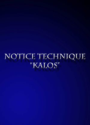 "Notice technique ""KALOS"""