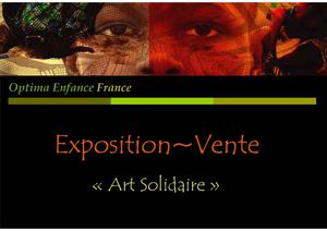 Catalogue exposition~vente Optima Enfance France