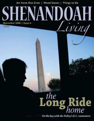 Shenandoah Living magazine Winter 2008