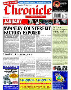 The Swanley & Dartford Chronicle January 2009
