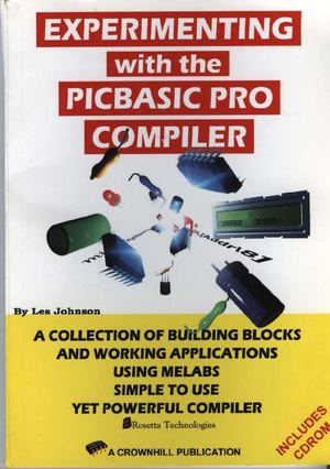 Experimenting with the PicBasic Pro Compiler-