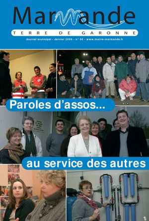 Journal Municipal n° 50 - Ville de Marmande