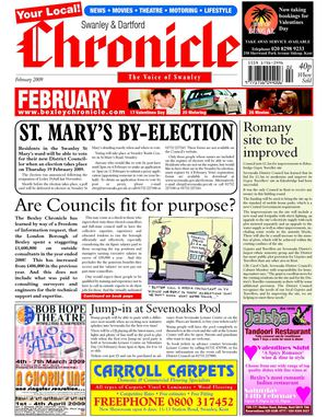 The Swanley & Dartford Chronicle February2009