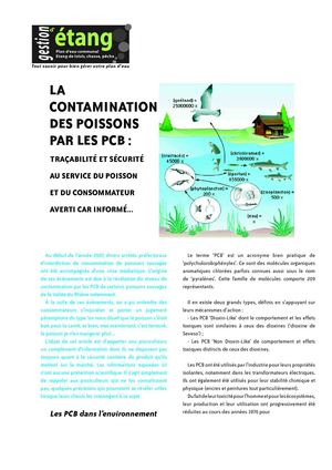 Article contamination aux PCB