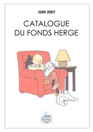Catalogue du Fonds Hergé
