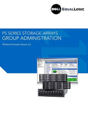 DELL EqualLogic Arrays Administration