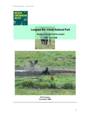 Langoué Bai:  Review of the pilot tourism project  (2001-2008)