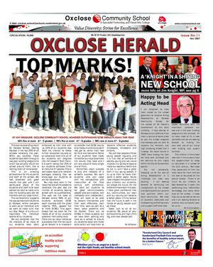 Oxclose Herald Issue 11