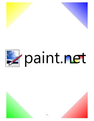 Tutoriel Paint.net