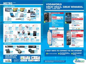 Vodaworld Deals - April 2009